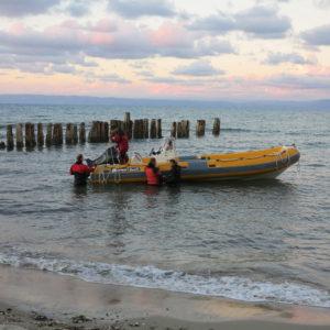 4.10 -Kepi i Rodonit, náš expediční člun