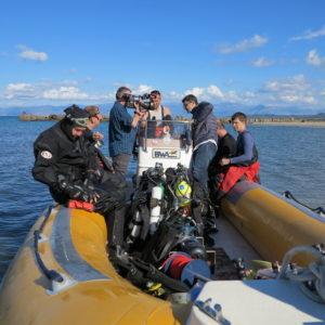 4.10-poprvé Vyplouváme k vraku parníku Linz