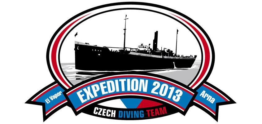 "Potápěčská expedice "" El VAPOR – ARNA 2013"""